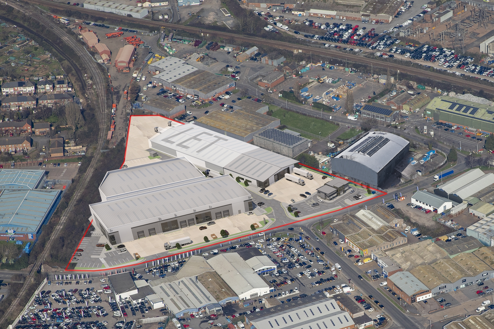 Exeter Trade Park, EXETER