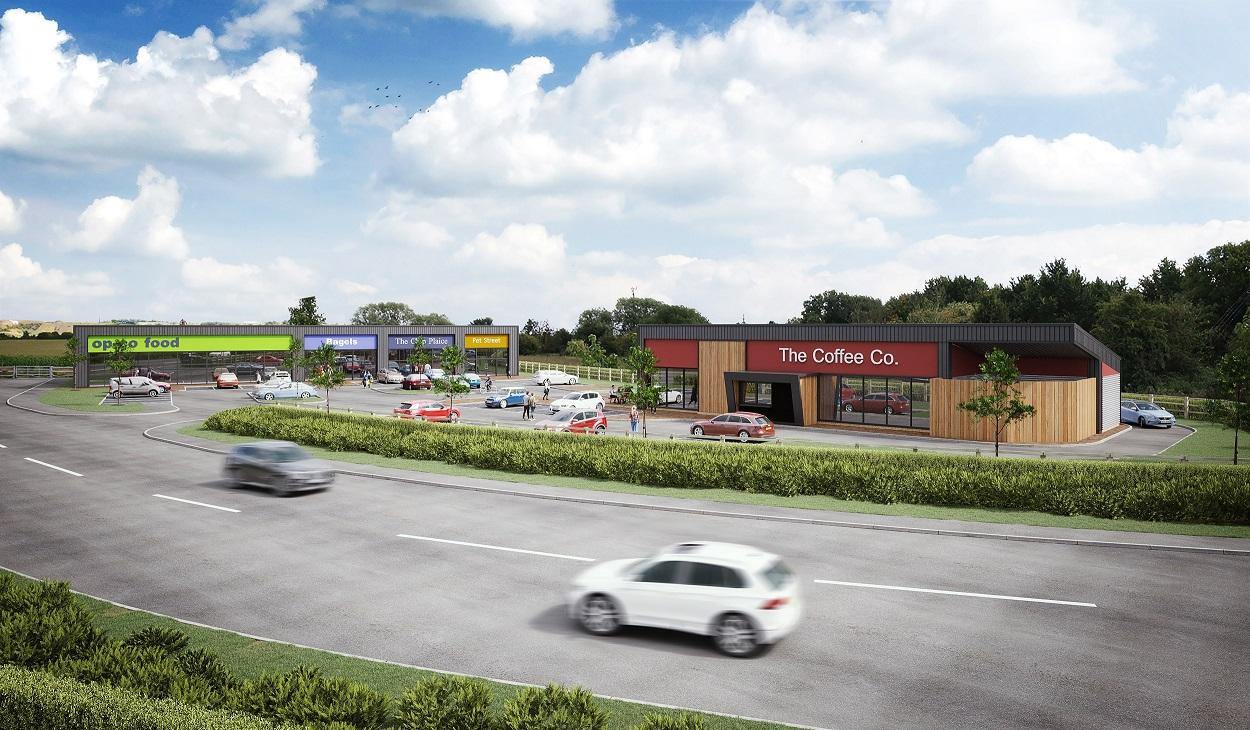 Roadside Scheme, Hawke Ridge Business Park, WESTBURY