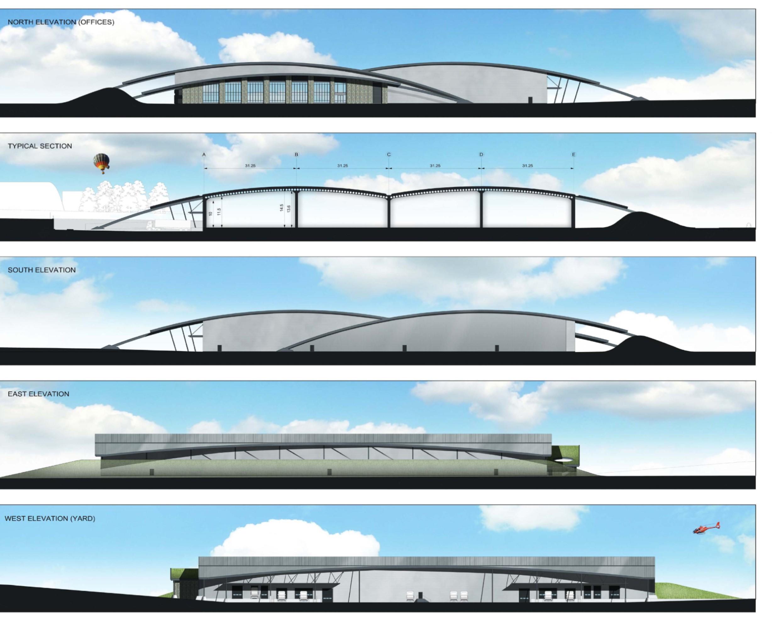 Brand New Warehouse, Kemble Enterprise Park, CIRENCESTER