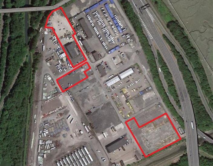 Llandarcy - Storage Yards, NEATH