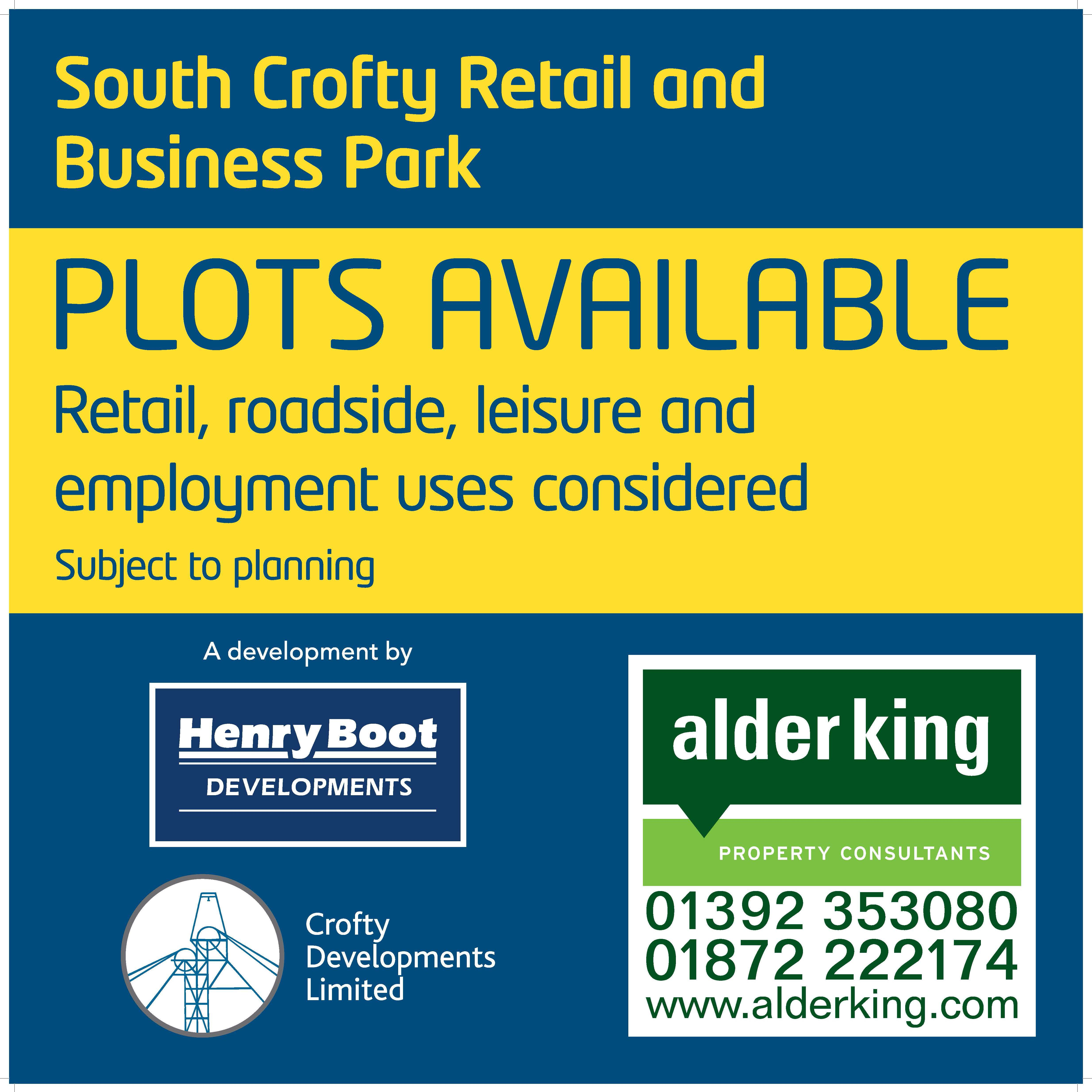 South Crofty Retail and Business Park, REDRUTH