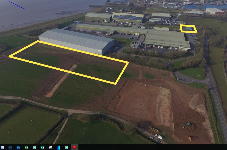 Bristol Gateway Open Storage Land, SHARPNESS