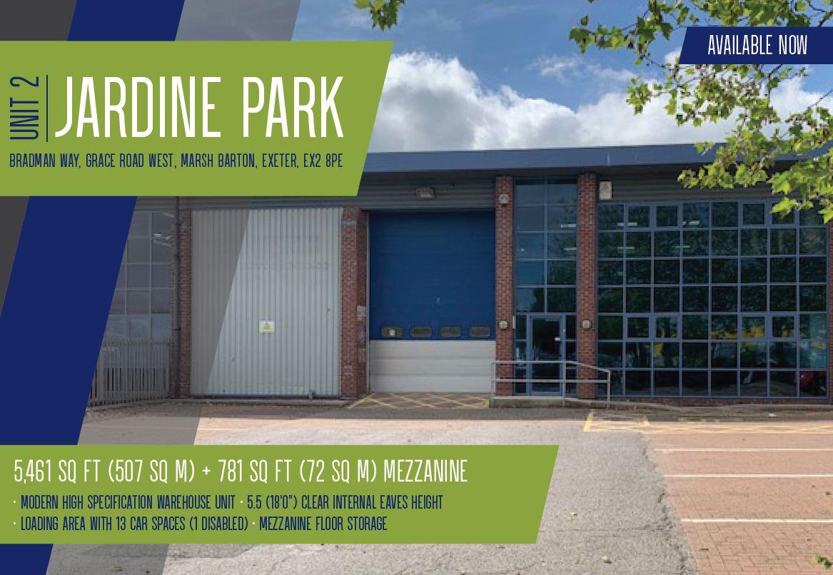 Unit 2 Jardine Park, EXETER